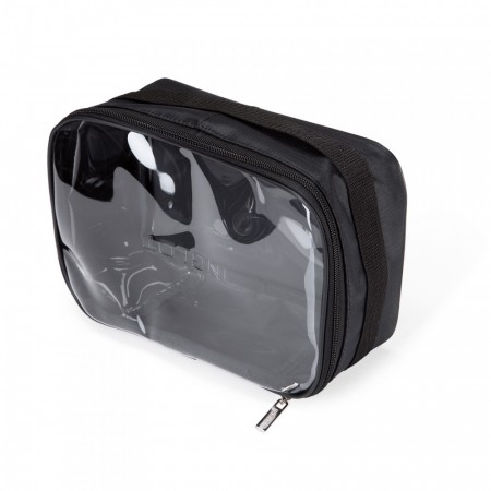 Travel Makeup Bag Black Large