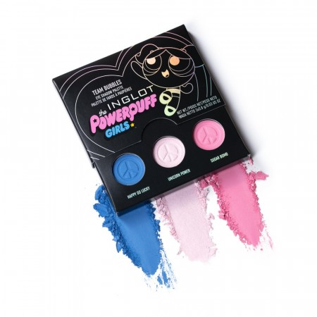 POWERPUFF GIRLS TEAM BUBBLES EYE SHADOW PALETTE