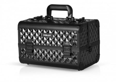 Makeup Case Black Diamond Medium