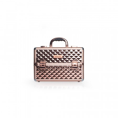 Makeup Case Diamond Rose Gold Small (Limited Edition)